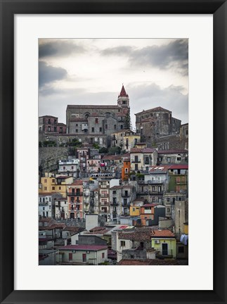 Framed Vertical Print