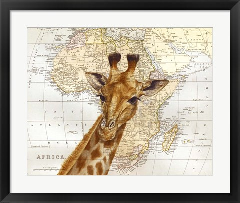Framed Out of Africa Print