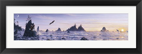 Framed Eagles Nest 2 Print