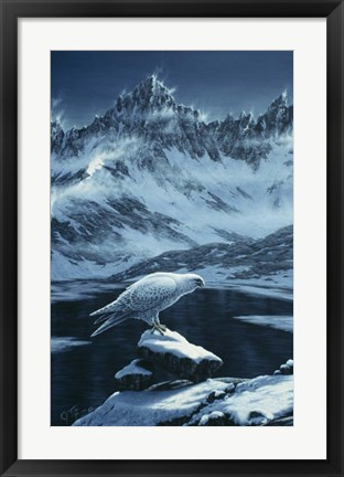 Framed In The Land Of Ice And Snow Print