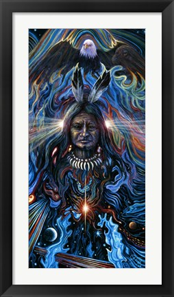 Framed Eagle Spirit Print