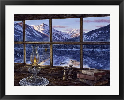 Framed Room With A View Print