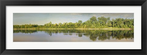 Framed Tennessee River Reflections Print