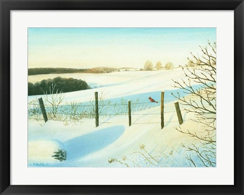 Framed Winter Wonderland Print