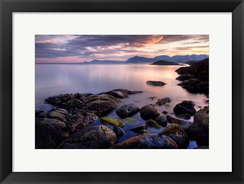 Framed Norway 6 Print