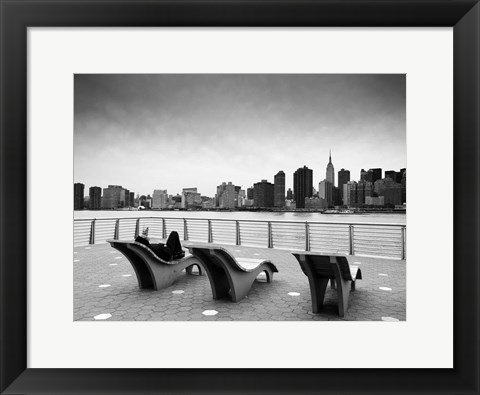 Framed NYC Relax Print