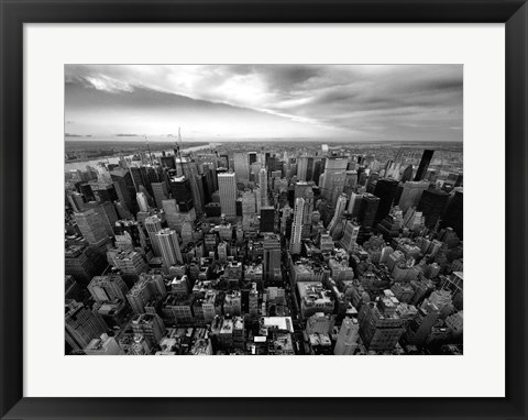 Framed NYC Uptown Print