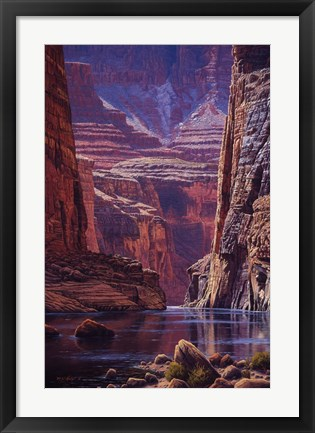 Framed Higher Light Print