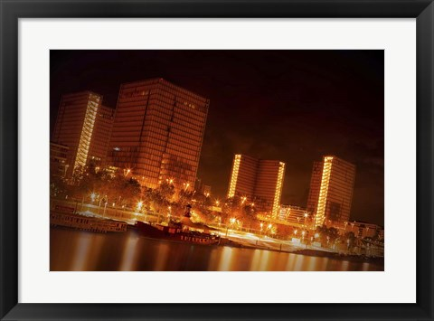 Framed Night Lights Print