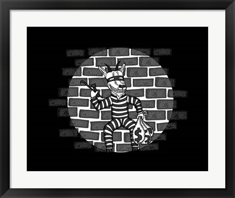 Framed eScape Goat Print