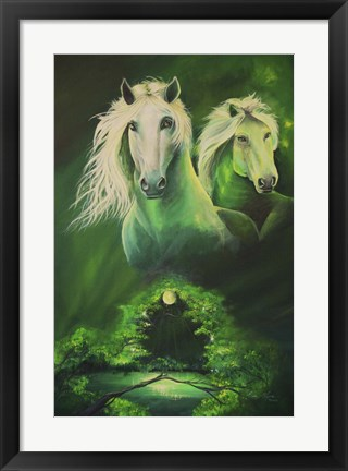 Framed Enchanted Forest Print