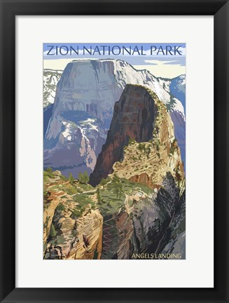 Framed Zion National Park 1 Print