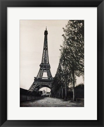 Framed Paris in the Park Print