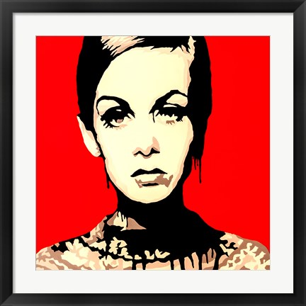 Framed Patient Eyes Pop Art Print