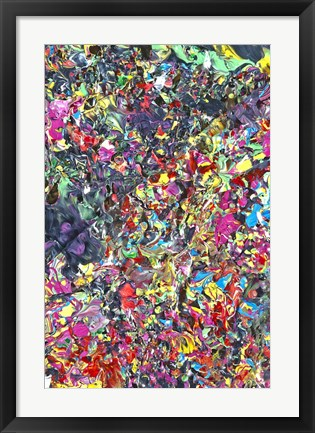 Framed Abstract 7 Print