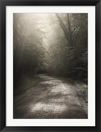 Framed Back Country Road Print