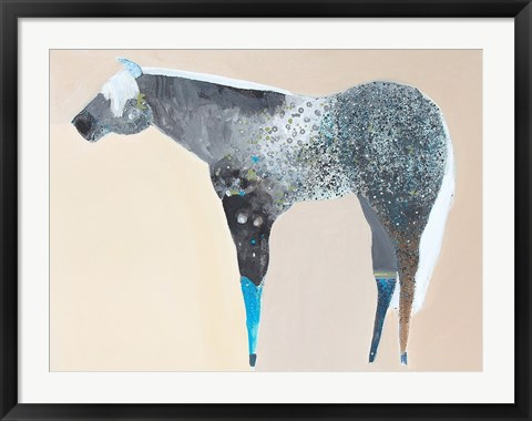 Framed Horse No. 66 Print
