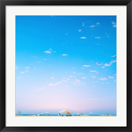 Framed Summer Air Print