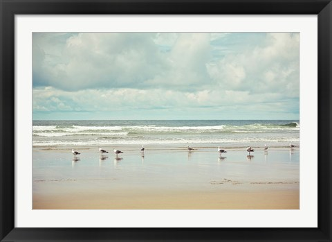 Framed Beachcombing Print