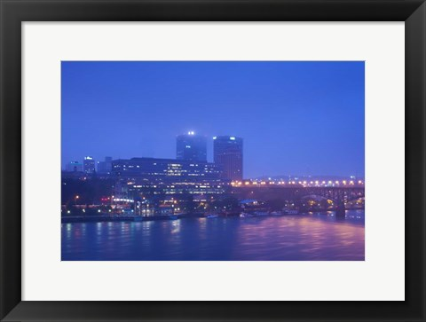 Framed Knoxville, Knox County, Tennessee Print