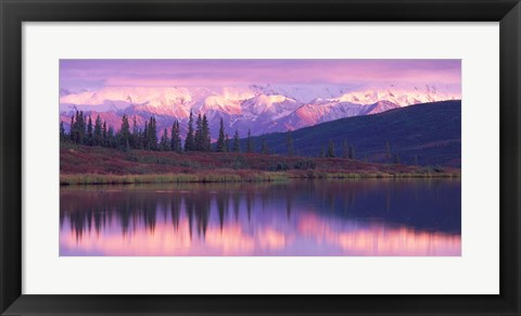 Framed Alaska Denali National Park Print