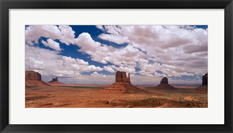 Framed Monument Valley Tribal Park, AZ Print