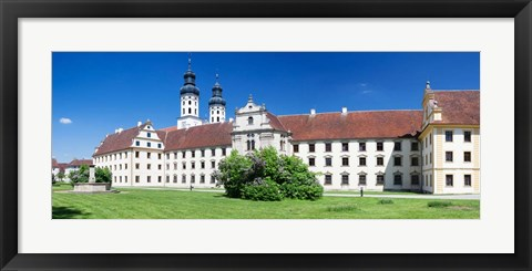 Framed Obermarchtal Monastery, Baden-Wurttemberg, Germany Print