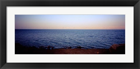 Framed Dead Sea, Jordan Print
