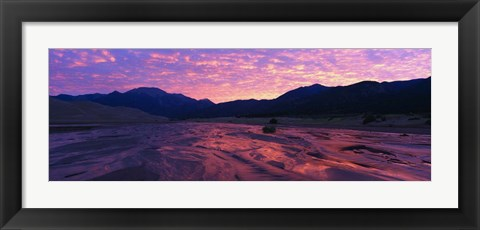 Framed Great Sand Dunes National Monument, CO Print