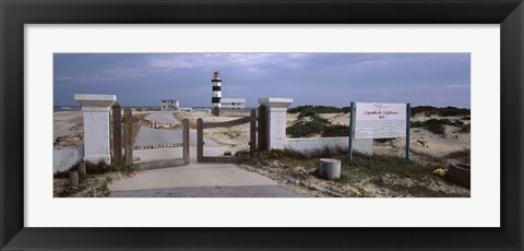 Framed Cape Recife Lighthouse, Republic of South Africa Print