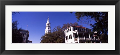 Framed St. Michael's Episcopal Church, Charleston, South Carolina Print