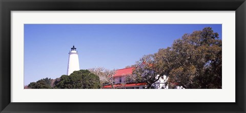 Framed Ocracoke Lighthouse Ocracoke Island, North Carolina Print