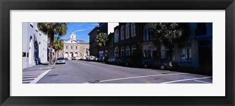 Framed Cotton Exchange, Charleston, South Carolina Print
