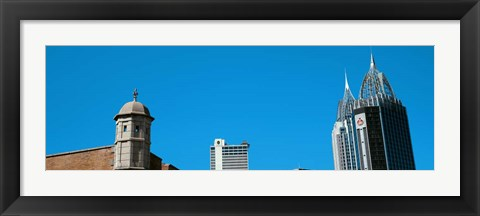 Framed Buildings in Mobile, Alabama Print