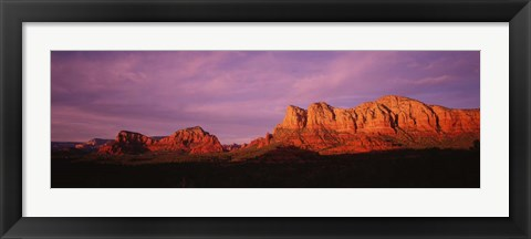 Framed Red Rocks Country, Arizona Print