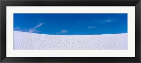 Framed White Sands National Monument, New Mexico Print