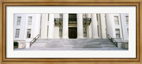 Framed Alabama State Capitol Staircase, Montgomery, Alabama Print