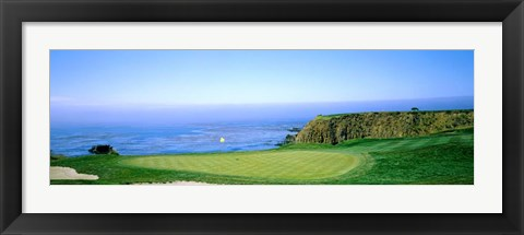 Framed Pebble Beach Golf Course, Monterey County, California Print