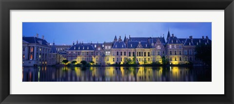 Framed Netherlands, The Hague Print