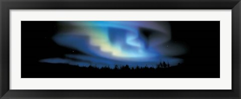 Framed Northern Lights Print