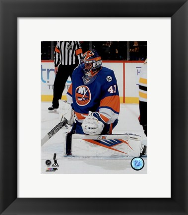 Framed Jaroslav Halak 2015-16 Action Print