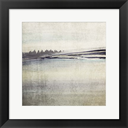 Framed Forest Glimpse II Print
