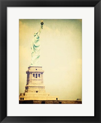 Framed Statue Liberty 1 Print
