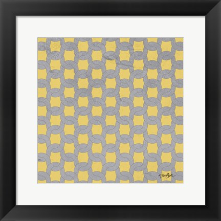 Framed Lattice 1 Print