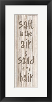 Framed Salt Sand Print