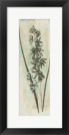 Framed Earthy Floral Mate Print