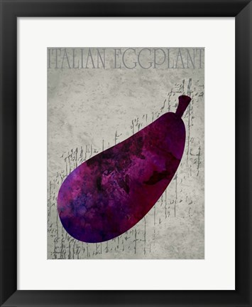 Framed Fruit Watercolor III Print