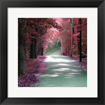 Framed Forest Blush Print