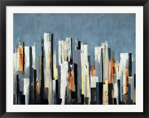 Framed Urban Play Print