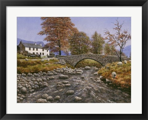 Framed Old Packhorse Bridge Print